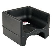 Cambro 200BC110 Plastic Booster Seat - Dual Seat - Black