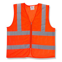 Orange Class 2 High Visibility Safety Vest - XL