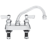 Fisher 3510 Deck-Mounted Swivel Faucet with 4 inch Centers - 6 inch Spout