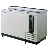 Turbo Air TBC-50SD 50 inch Super Deluxe Stainless Steel Bottle Cooler