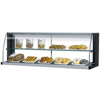 Turbo Air TOMD-40-HB 39 inch Top Dry Display Case for Turbo Air TOM-40SB Slim Line Open Display Case - Black