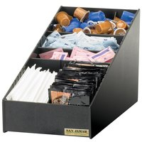 San Jamar L2900 Coffee Condiment and Straw Organizer
