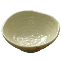 Gold Orchid 2 oz. Round Melamine Dish Saucer - 12 / Pack