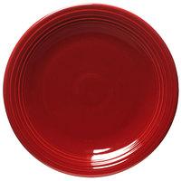 Homer Laughlin 467326 Fiesta Scarlet 11 3/4 inch Chop Plate - 4/Case