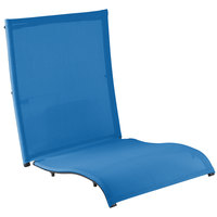 Grosfillex US532006 Blue Replacement Sling for Belize Midback Folding Resin Armchairs