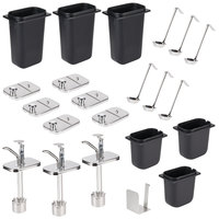 Master Bilt A051-11150 Pump and Jar Assembly Set for FLR-80 Ice Cream Dipping Cabinets