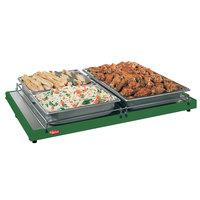 Hatco GRS-18-A 18 inch x 6 inch Glo-Ray Green Portable Heated Shelf Warmer - 100W