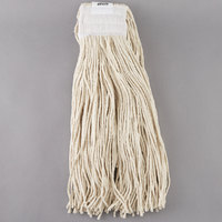 Continental A401032 32 oz. Cut End Natural Cotton Mop Head with 5 inch Band