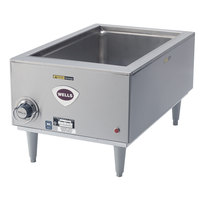 Wells SMPTD 12 inch x 20 inch Countertop Food Warmer with Drain