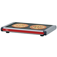 Hatco GR2S-24 24 inch Glo-Ray Warm Red Designer Portable Heated Shelves with Black Caps - 350W