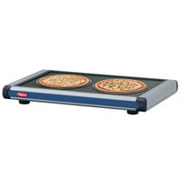 Hatco GR2S-30 30 inch Glo-Ray Navy Blue Designer Portable Heated Shelf with Black Caps - 450W