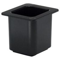 Cambro 66CF110 Black 1/6 Size ColdFest Pan 6 inch Deep