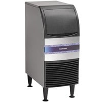 Scotsman CU0415MA-1A 15 inch Air Cooled Undercounter Medium Cube Ice Machine - 58 lb.