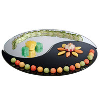 Cal-Mil PT325 32 inch Yin Yang 2 Piece Mirror Tray Set