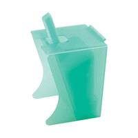 Cal Mil 1032-64 64 oz. Econo Freestanding Polyethylene Scoop Holder with Scoop and Drip Tray