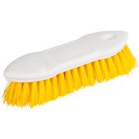Carlisle 4549404 8 inch Yellow Sparta Spectrum Pointed End Scrub Brush
