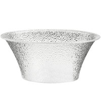 Cal-Mil 403-18-34 17 1/2 inch Pebble Acrylic Bell Bowl