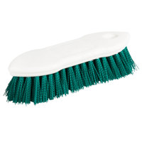 Carlisle 4549409 8 inch Green Sparta Spectrum Pointed End Scrub Brush