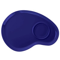 GET PP-976-CB Let's Party Cobalt Blue 12 inch Palette Plate - 12/Pack