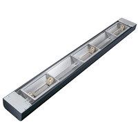 Hatco GRN4L-48 Glo-Ray 48 inch Narrow Halogen Strip Warmer with Lights - 700W