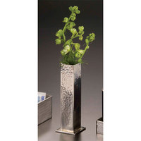 American Metalcraft HMBV1 1 3/4 inch x 5 1/4 inch Hammered Stainless Steel Bud Vase