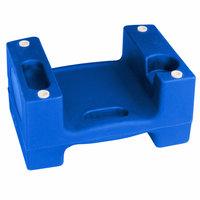 Koala Kare Booster Buddies KB116-04 Blue Plastic Booster Seat - Dual Height - 5/Pack