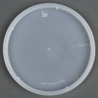 Tamper Resistant Translucent Lid for Round Deli Containers - 500 / Case
