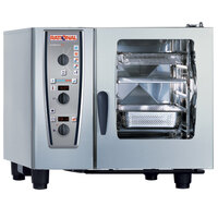Rational CombiMaster Plus Model 61 A619106.43.202 Combi Oven with Six Half Size Sheet Pan Capacity - 480V 3 Phase