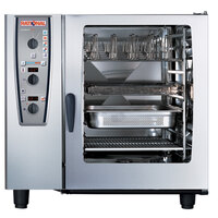 Rational CombiMaster Plus Model 102 A129106.12.202 Combi Oven with Ten Full Size Sheet Pan Capacity - 208/240V 3 Phase