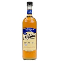 DaVinci Gourmet 750 mL Sugar Free Madagascar Vanilla Coffee Flavoring Syrup
