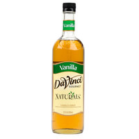 DaVinci Gourmet 700 mL Vanilla All Natural Coffee Flavoring Syrup