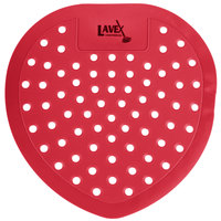 Lavex Janitorial Cherry Scent Deodorized Urinal Screen   - 12/Pack