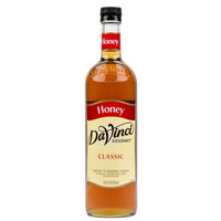 DaVinci Gourmet 750 mL Honey Flavored Sweetener Syrup