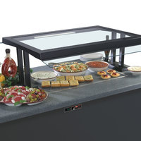 Hatco GRSSB-3018 30 inch x 18 inch Glo-Ray Built-In Gray Granite Heated Stone Warmer Shelf - 120V, 780W