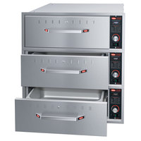 Hatco HDW-3BN Built-In Narrow Three Drawer Warmer - 1350W