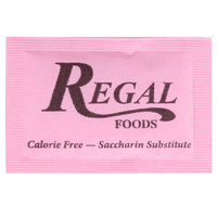Regal Foods Pink Sugar Substitute - (2000) 1 Gram Packets / Case