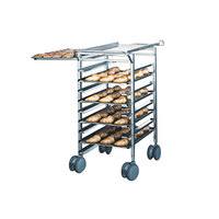 Rational 60.70.160 Height Adjustable Transport Trolley for 62 On 102 Combi Duo Ovens