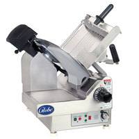 Globe 3975NF 13 inch Heavy Duty Automatic Gravity Feed Meat Slicer - 1/2 hp