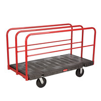 Rubbermaid 4469 Table Truck - 60 inch x 30 inch (FG446900BLA)