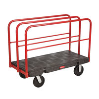 Rubbermaid 4468 Table Truck - 48 inch x 24 inch (FG446800BLA)