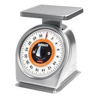 Rubbermaid Pelouze 632SRWQ 32 oz. Portion Control Scale - Dishwasher Safe with QuickStop (FG632SRWQ)