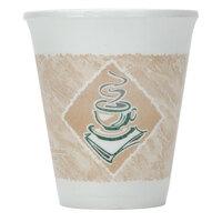 Dart Solo 8X8G 8 oz. Espresso Foam Cup - 25/Pack