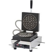 Krampouz WECCCCAS Round Style Belgian Waffle Maker - 7 inch diameter, 120V