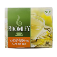 Bromley Hot Green Decaffeinated Tea Bags - 48/Box
