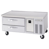 Beverage-Air WTRCS52-1 52 inch Two Drawer Refrigerated Chef Base - 9.7 cu. ft.