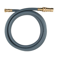 Dormont 30D-10QD Portable Outdoor Gas Connector with Quick Disconnect for Natural Gas and Liquid Propane Appliances - 1/2 inch x 10'