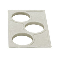 Cambro CPH3 Sandstone Crock Holder for Cambro Food Bars - 12 7/8 inch x 20 7/8 inch