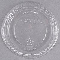Dart Solo 640TP Clear Plastic Non-Vented Lid - 2500/Case