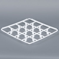 Vollrath 5230780 Signature Full-Size 16 Compartment Glass Rack Trim Divider