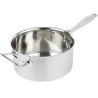 Vollrath 47742 Intrigue 4.25 Qt. Sauce Pan with Helper Handle